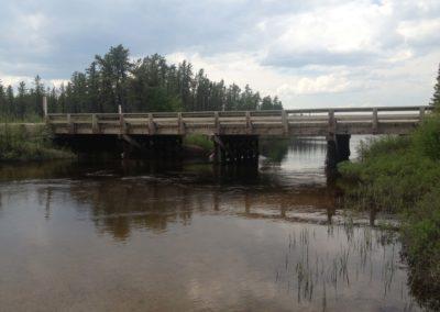 Lake Scenery - Bridge - Northern Saskatchewan Fishing (Mawdsley Lake Fishing Lodge)