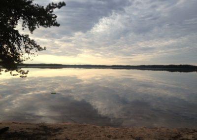 Lake Scenery - Northern Saskatchewan Fishing (Mawdsley Lake Fishing Lodge)