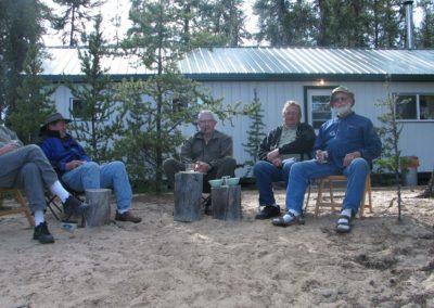 Group Photo - Northern Saskatchewan Fishing (Mawdsley Lake Fishing Lodge)