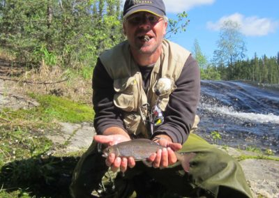 North Saskatchewan Fly Fishing (Mawdsley Lake Fishing Lodge)