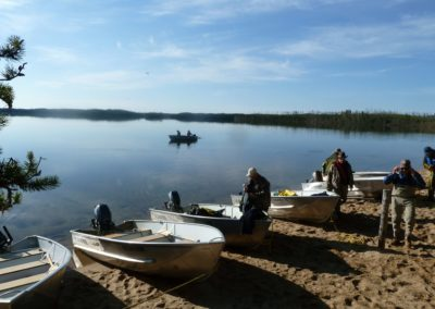 Boat Launch - Northern Saskatchewan Fishing (Mawdsley Lake Fishing Lodge)