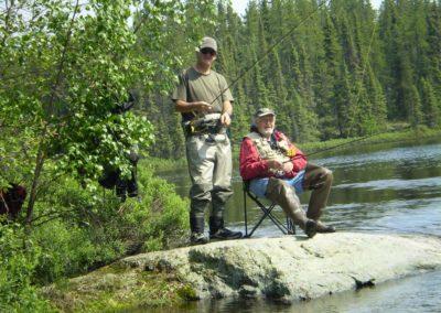 Lake Scenery - Fly Fishing - Northern Saskatchewan Fishing (Mawdsley Lake Fishing Lodge)