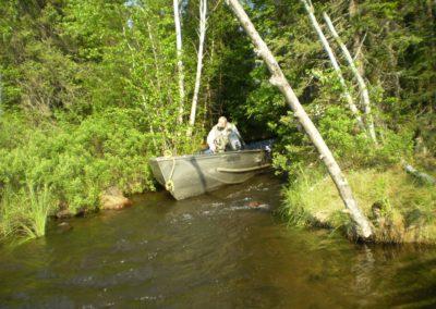 Strait - Lake Scenery - Northern Saskatchewan Fishing (Mawdsley Lake Fishing Lodge)